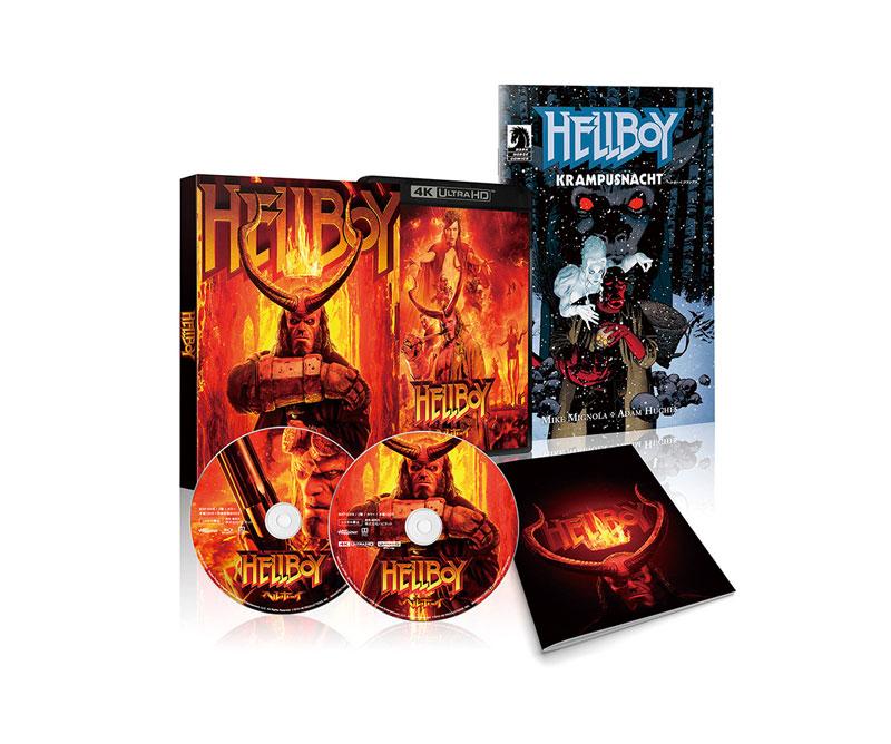 【ヘルボーイ】4K ULTRA HD&Blu-ray&DVD 2020年2月4日発売!